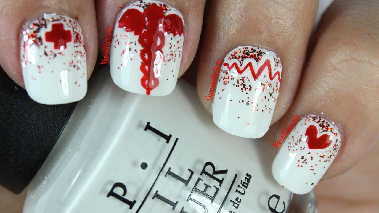 nail art infirmiere