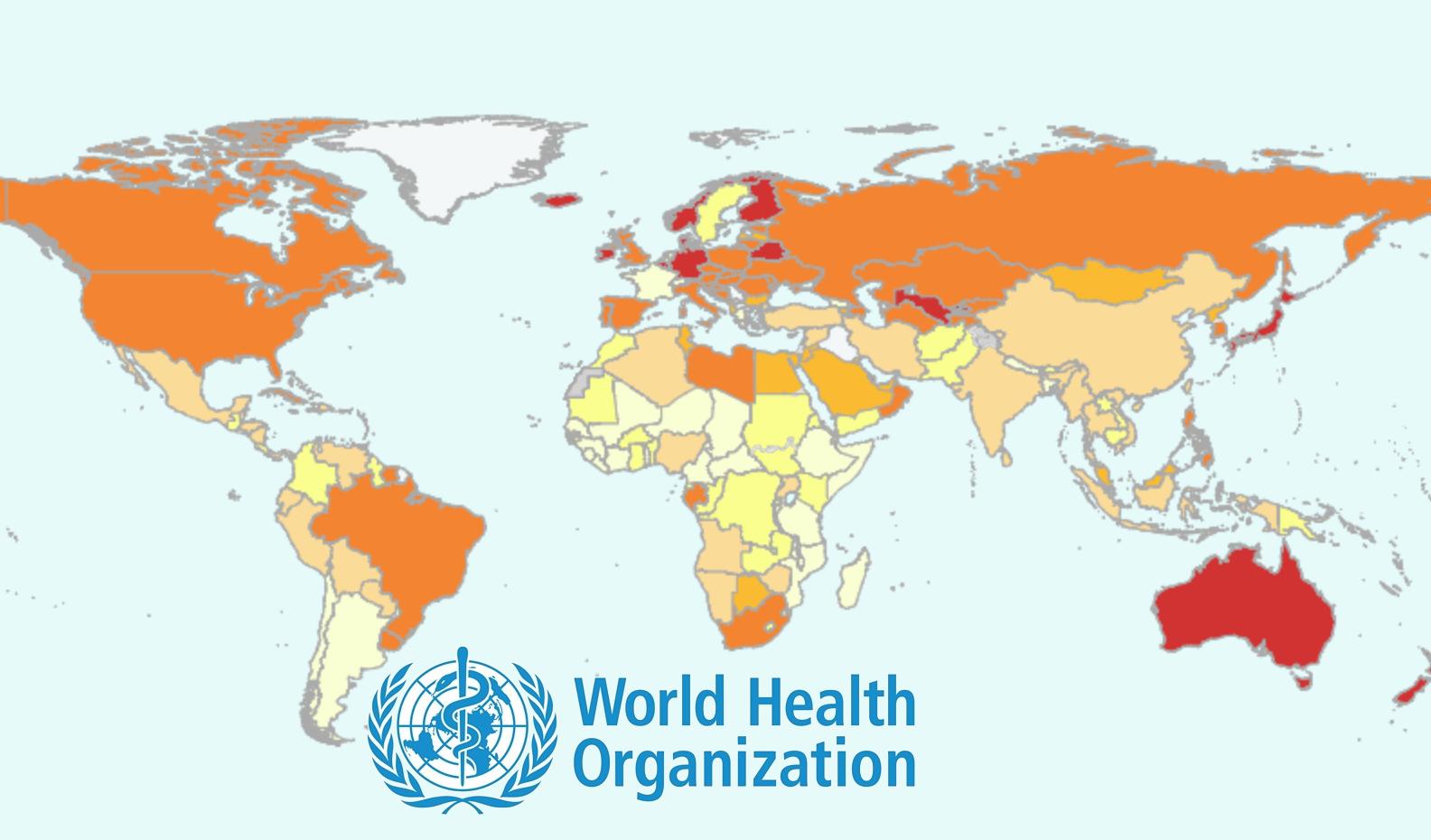 Voici les pays avec la plus grande densité d'infirmières selon l'OMS !