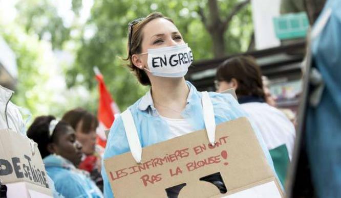 greve mobilisation infirmière