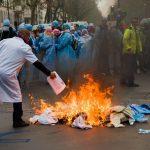 «IADE en colère» : la manifestation des infirmières anesthésistes !