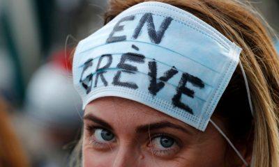 Grève des infirmières du 7 mars - Le résumé de la journée avec vos images !