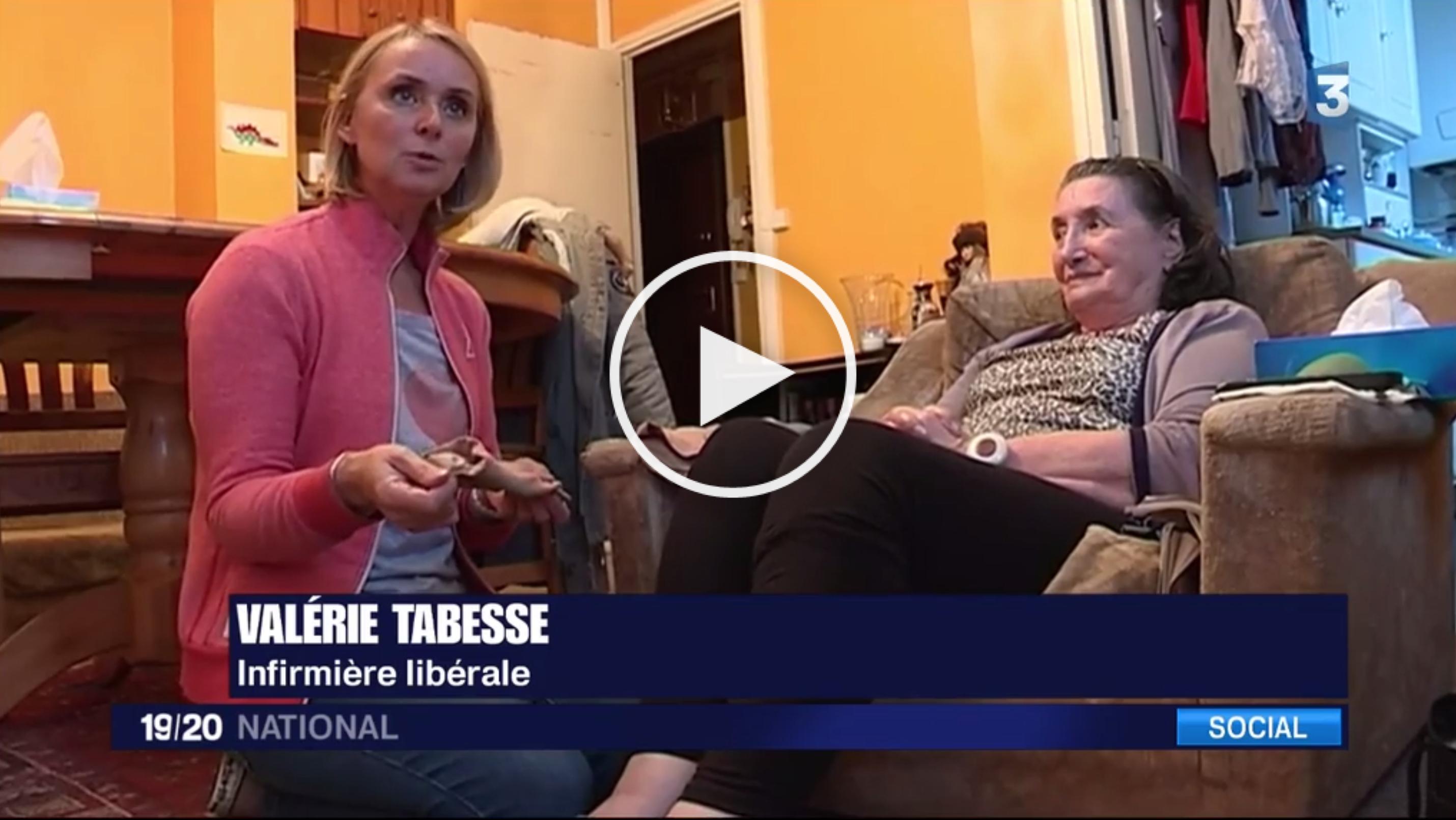 """Reportage France 3 : """"Le ras-le-bol des infirmières libérales"""" !"""