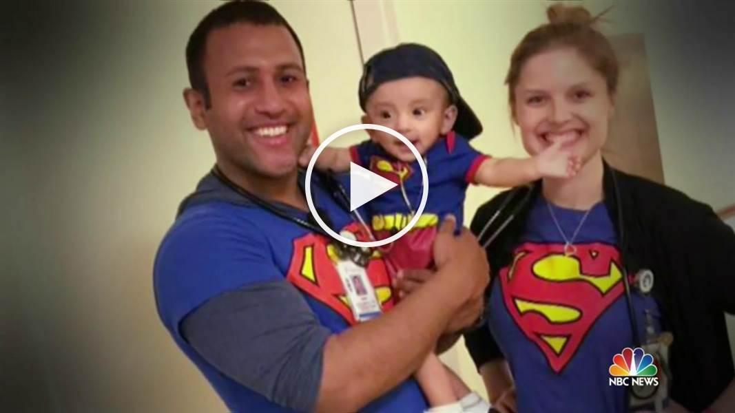 Cet infirmier s'habille en super-héros pour faire sourire ces enfants malades !