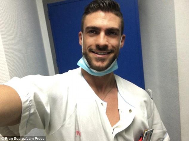 Voici l'infirmier le plus sexy (du monde ?) selon le Daily Mail !