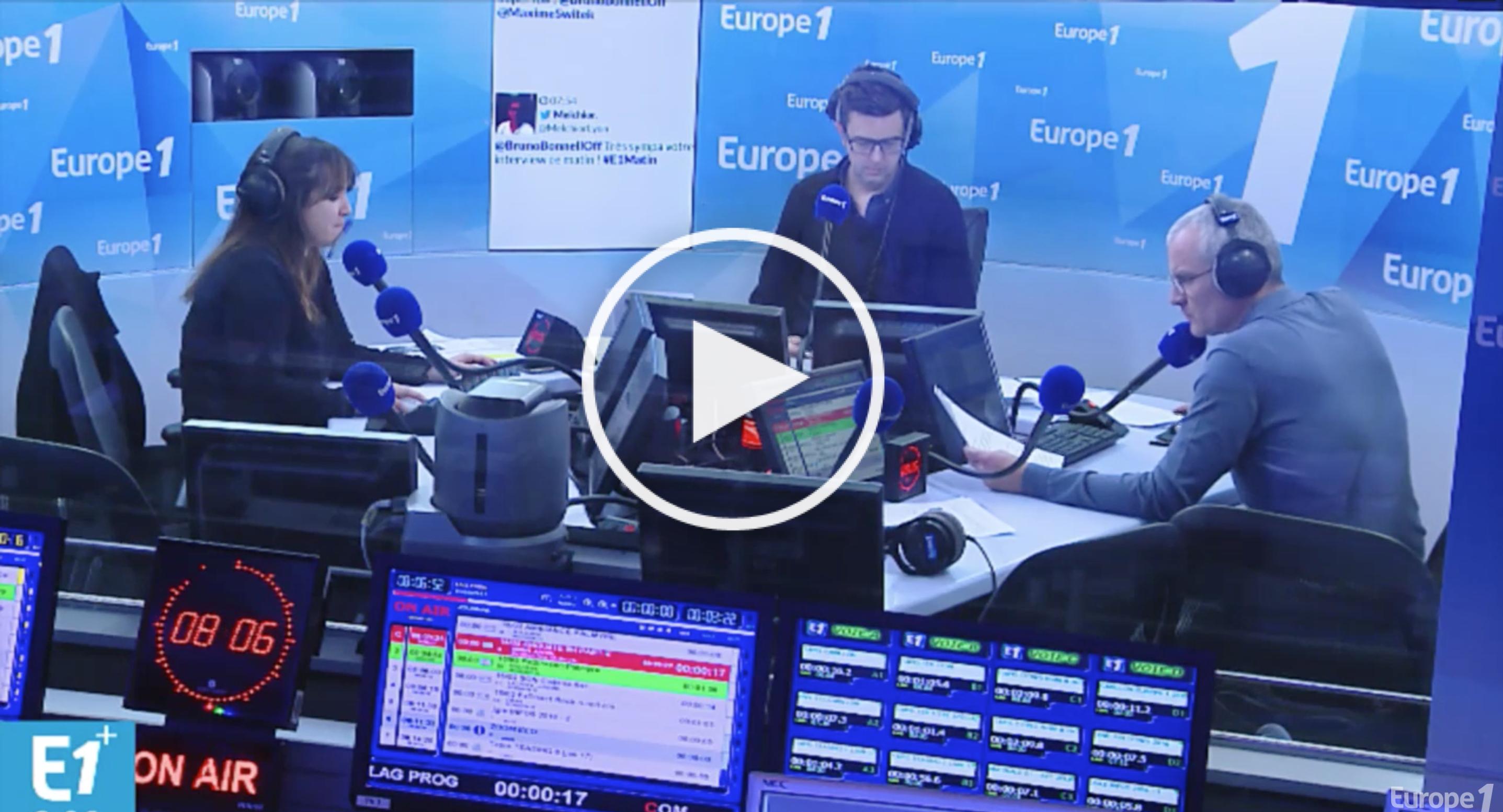 """Reportage choc d'Europe 1 : """"l'hôpital public au bord de la crise de nerf"""""""