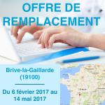 Offre de remplacement infirmier / infirmière à Brive-la-Gaillarde en Corrèze !