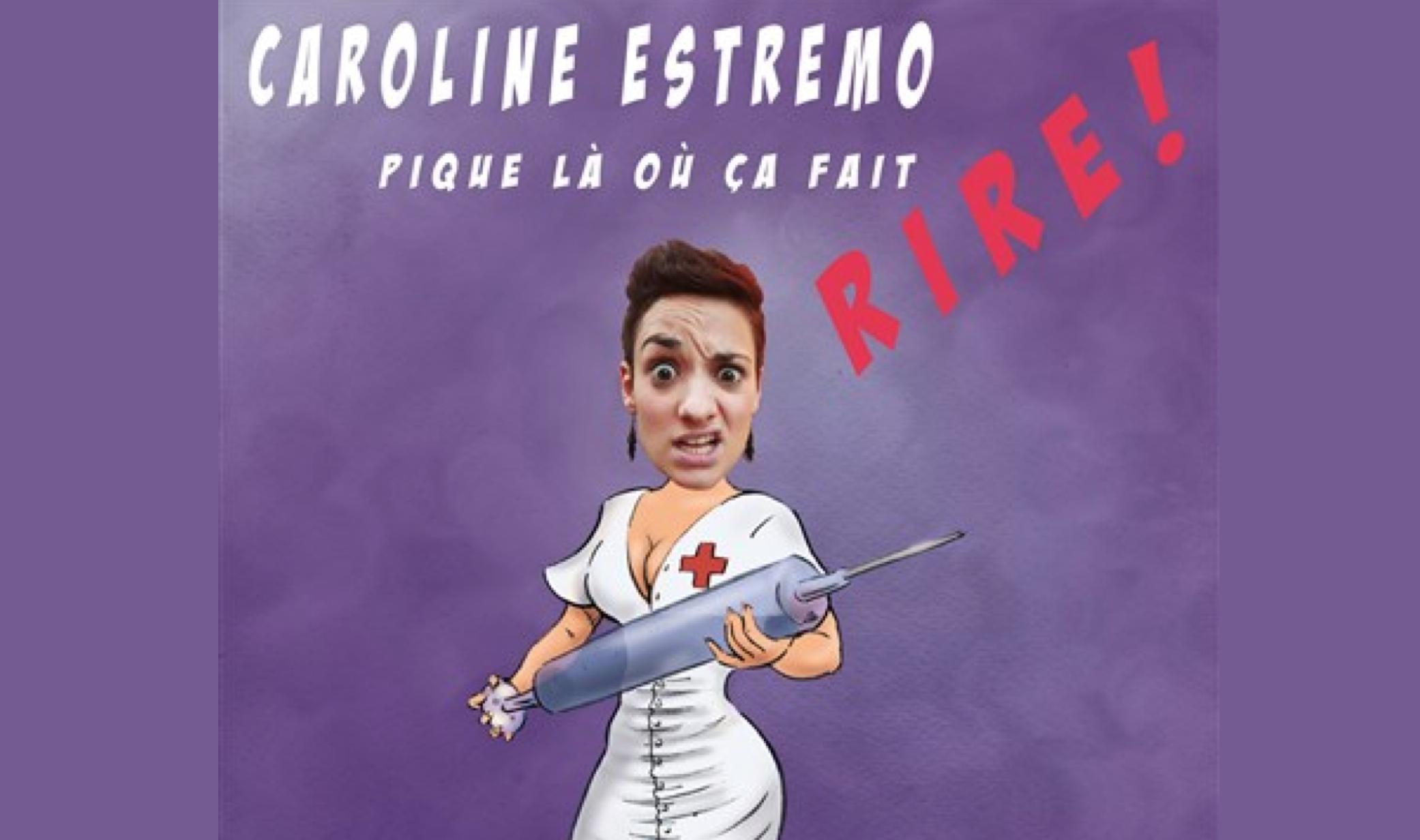 """""""Pique là où ça fait rire"""" - Caroline Estremo se lance dans le spectacle !"""