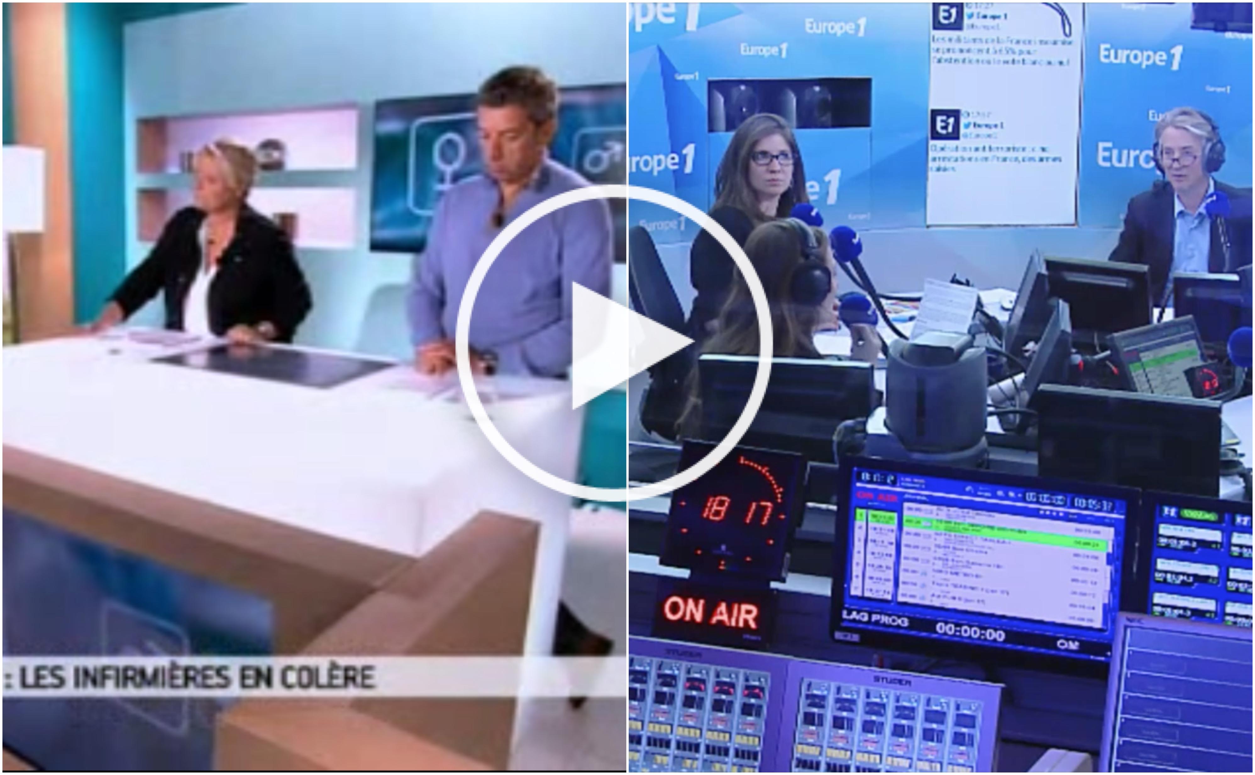 Prime de nuit des infirmières - l'analyse d'Europe 1 et de France Info