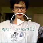 «4, 50 €, Merci Touraine !!!» – La nouvelle vidéo de Sabrina qui cartonne !