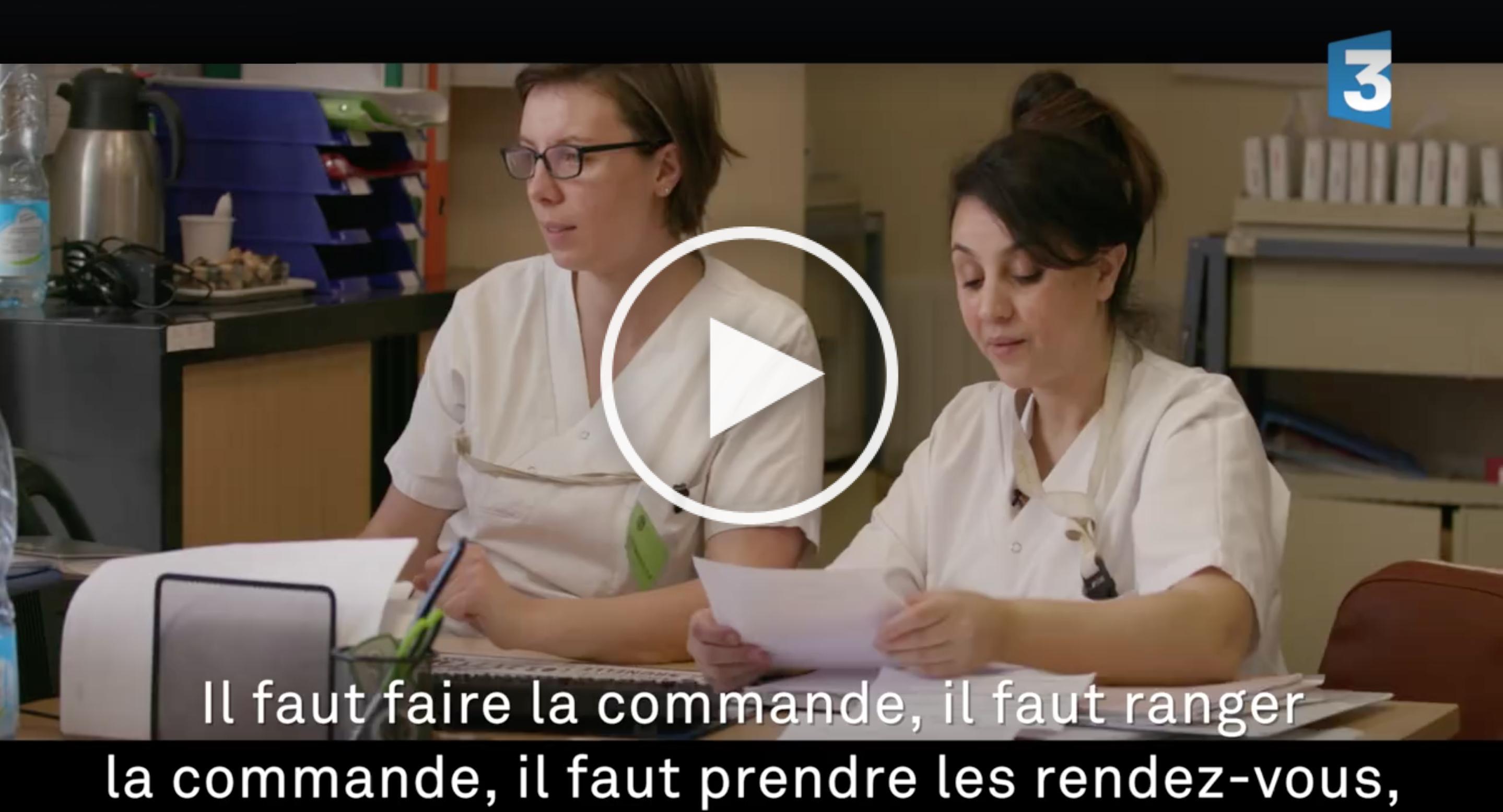 A voir absolument ! La vidéo choc de France 3 sur les infirmières...