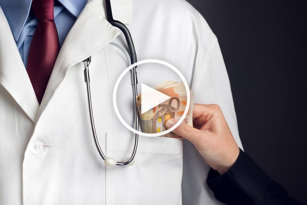 """""""Les labos dépensent 25 000€ par an et par médecin pour les influencer"""""""