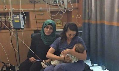 Une infirmière israélienne sauve un nourrisson palestinien !