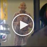 Une danse pour faire sourir un enfant malade vu par 15 million de personnes !