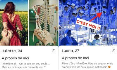 7 profils d'infirmières qu'on aimerait trouver sur une app de rencontre !