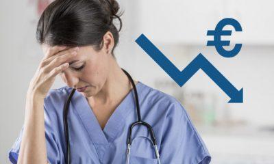 Salaire des infirmières : des chiffres inquiétants pour la France !