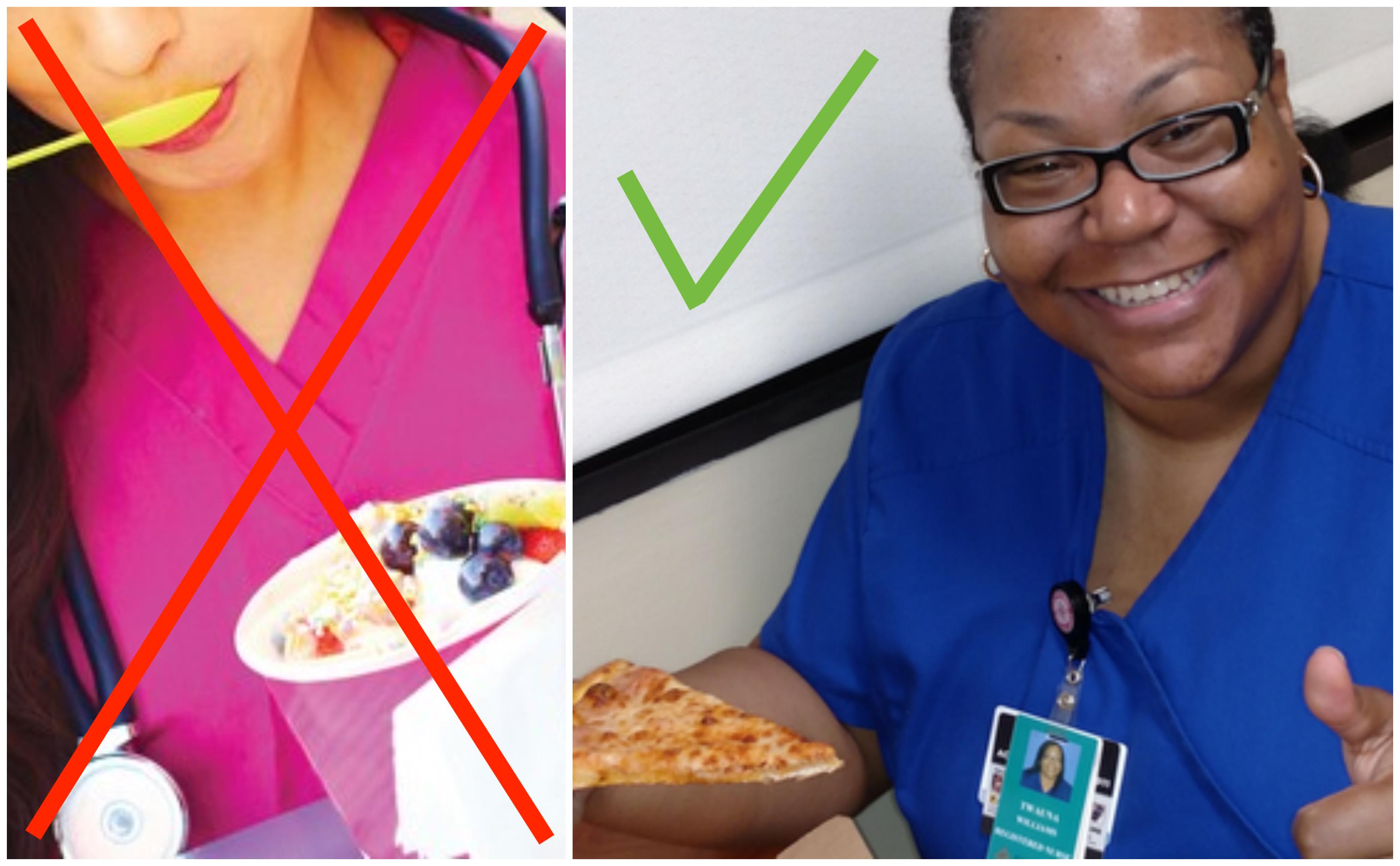 Top 10 de la malbouffe qu'une infirmière a déjà mangé durant une garde